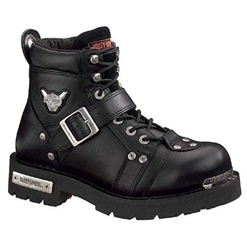 Harley-Davidson Men's Brake Buckle Boot,Black,10.5 M