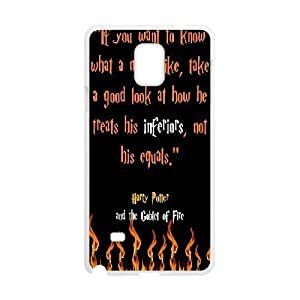 Samsung Galaxy Note 4 phone case White Harry Potter quotes AAPU8018674