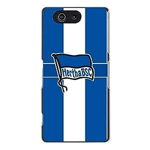Unique Design Hertha Berliner Sport Club Berlin Phone Case for Sony Xperia Z3 Compact Hertha BSC Team Logo
