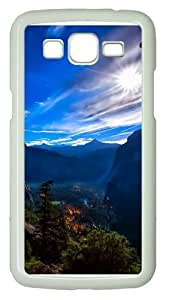 Yosemite National Park View Polycarbonate Hard Case Cover for Samsung Grand 2/7106 White
