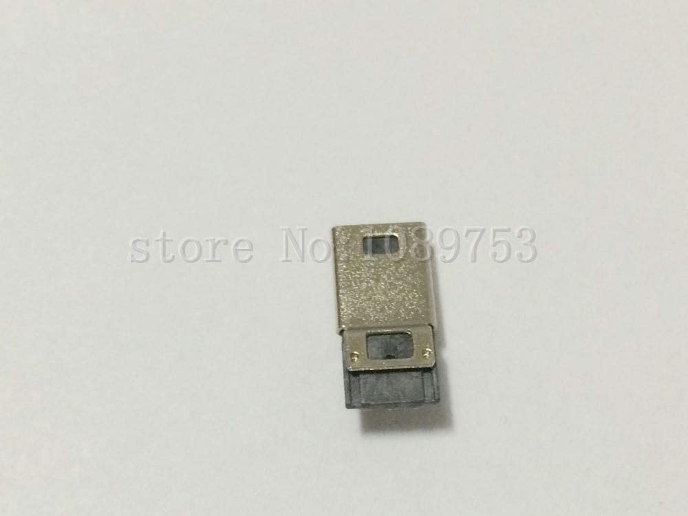 Gimax 20 Pcs Mini USB 5 Pin Male Plug Socket Connector With Plastic Cover for DIY