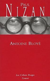 Antoine Bloyé par Nizan