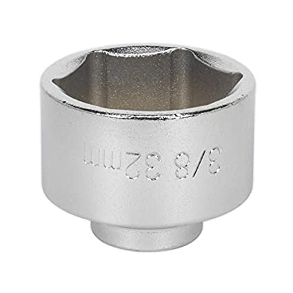 Sealey SX115 Low Profile Oil Filter Socket 38mm 3//8Sq Drive