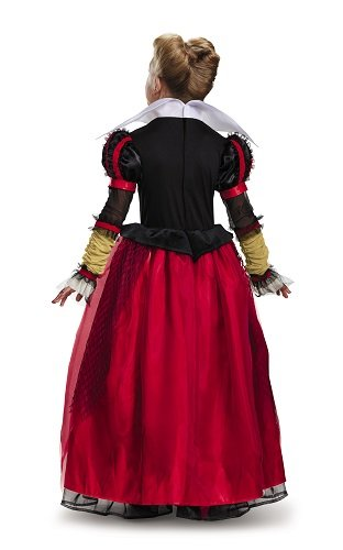 Red Queen Deluxe Alice Through The Looking Glass Movie Disney Costume, Medium/7-8