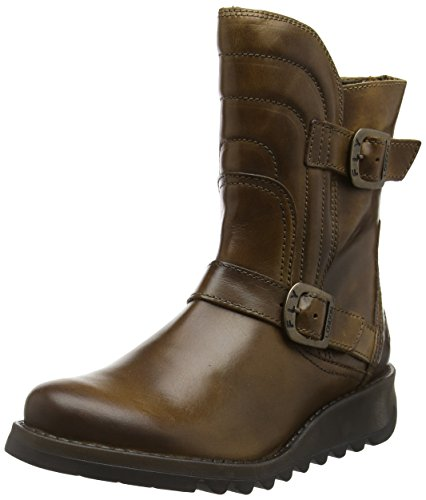 London Boots Women's Camel Fly 002 Sven731fly Brown awdtqt