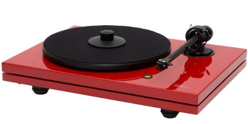 Music Hall MMF-5.3LE Turntable in hight gloss ferrari red w/