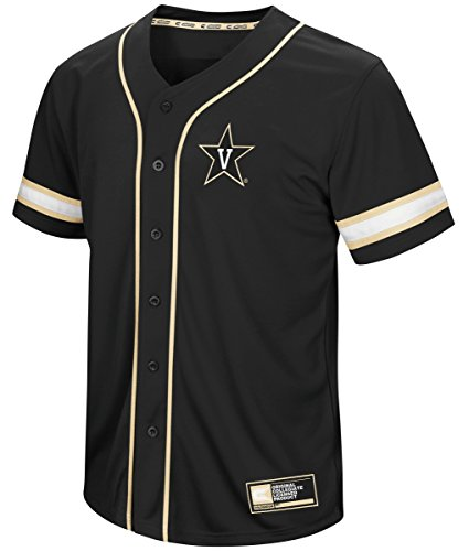 Vanderbilt Commodores NCAA Play Ball Men's Button Up Baseball Jersey