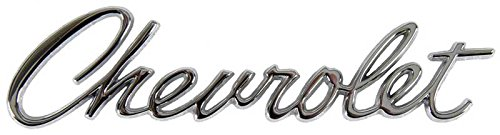 Chevrolet Trunk Emblem - Header Panel or Trunk Lid Emblem (Sold Each) -