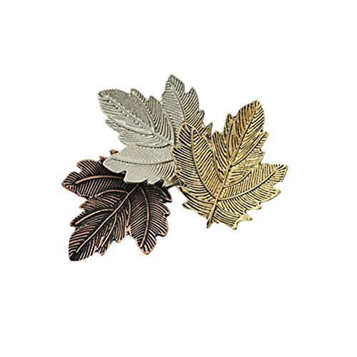 (PIXNOR Maple Leaf Brooch Pin Corsage Jewelry for)