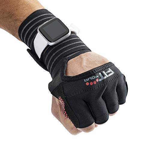 Fit Four OCR Slit Grip Gloves Obstacle Course Racing &