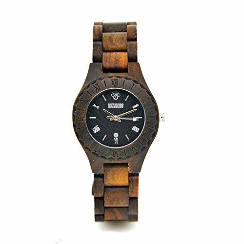 Bonoboss Tackra - Reloj de Madera para Mujer Mov. de Cuarzo: Amazon.es: Relojes