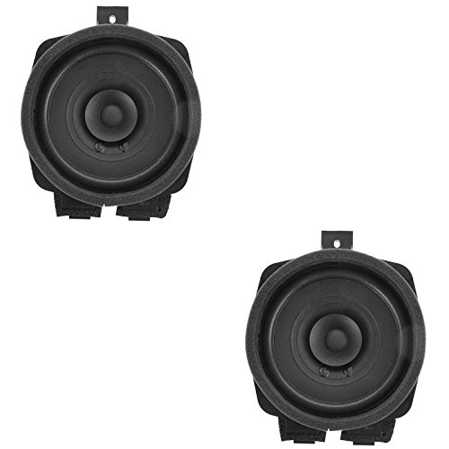 AC Delco Door Speaker Driver Passenger Pair for Chevy GMC Canyon Colorado