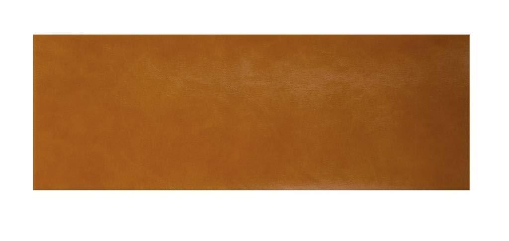 Lama333Autocollant en microfibre patchs de réparation pour cuir, 15cm x 100cm marron clair