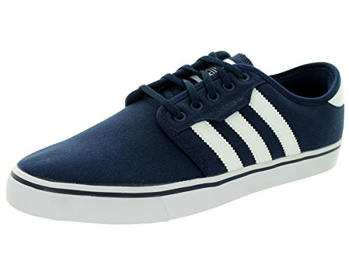 Adidas Men's Seeley Conavy/Ftwwht/Conavy Skate Shoe 6 Men US