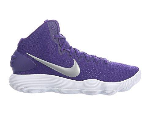 sports shoes d1eee f9136 wholesale amazon nike mens hyperdunk 2017 tb basketball shoe court purple  metallic silver white size 12