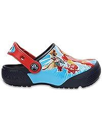 Crocs Infantil Clog FunLab Disney Frozen, Azul Marinho, Tamanho 25 BRA