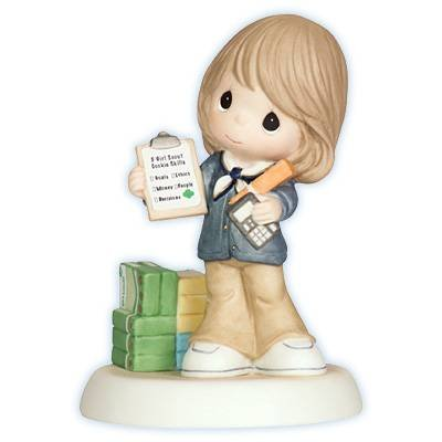 Precious Moments - We Can Always Count On You - Girl Scouts Figurine - 104032