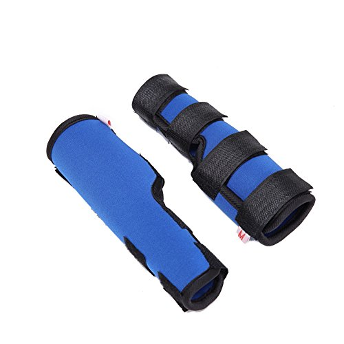 ieasysexy Dog Surgical Injury Boots Protects Wounds Brace Heals and Prevents Injuries and Sprains Rehabilitation Knee Protector for Dogs Dog Leggings Helps Arthritis (Blue for S)