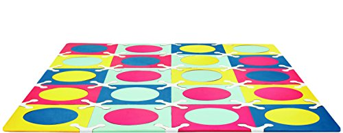 Skip Hop Playspot Interlocking Waterproof Foam Floor Tiles For Babies And Kids, Multi Colored, 70