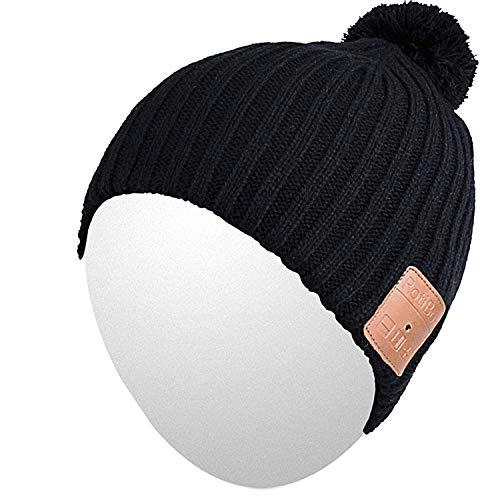 washable wireless bluetooth beanie knit