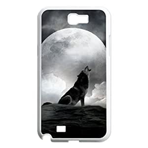 Wolf Customized Cover Case for Samsung Galaxy Note 2 N7100,custom phone case ygtg600108