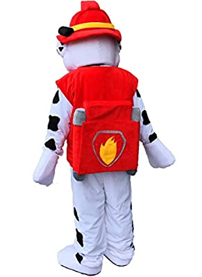 Patrol Chase mascot suit & Patrol Marshall dog Mascot Costume Cartoon Character Adult Sz 100% Real Picture Longteng ?TM?