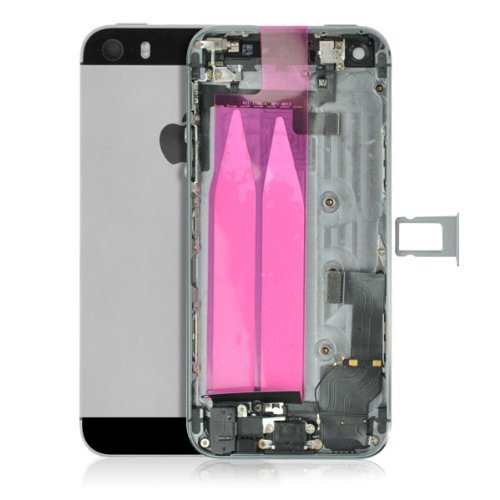 - Back Cover Housing Assembly with Middle Frame fits for iPhone 5s
