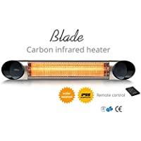 Veito Blade 1500W Carbon Infrared Heater (Silver)