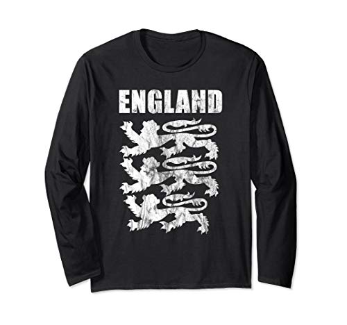 England Lions Long Sleeve Gift Jersey Trikot