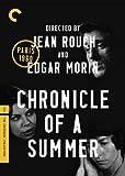 Chronicle of a Summer (Criterion)  / Chronique d'un été (Paris 1960)  (Bilingual)