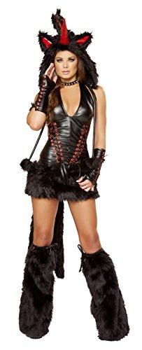 2pc Long Sheer Robe with Hooks & Mesh Shorts Bundle with Leg Avenue Stockings (Woman Halloween Costume Ideas 2016)