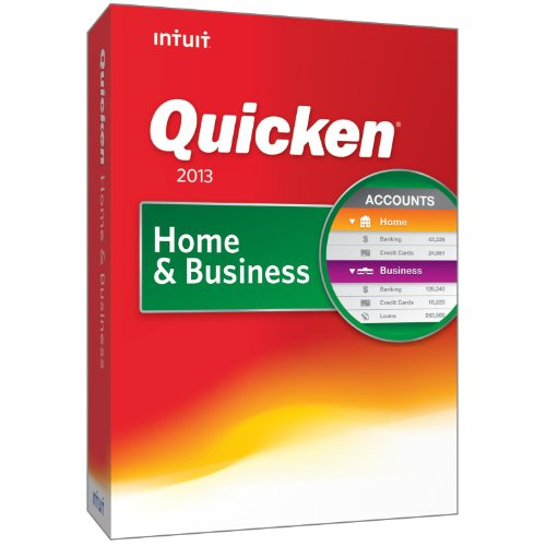 Intuit Quicken Home Business 2013 product image