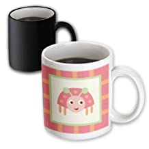PS Fun Art - Happy Ladybug- Whimsical Childrens Art - 11oz Magic Transforming Mug (mug_79245_3)
