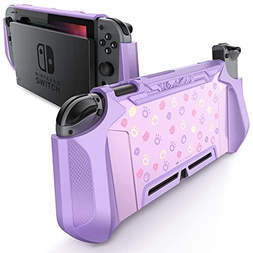 Funda para Nintendo Switch y control Joy-con puerpura