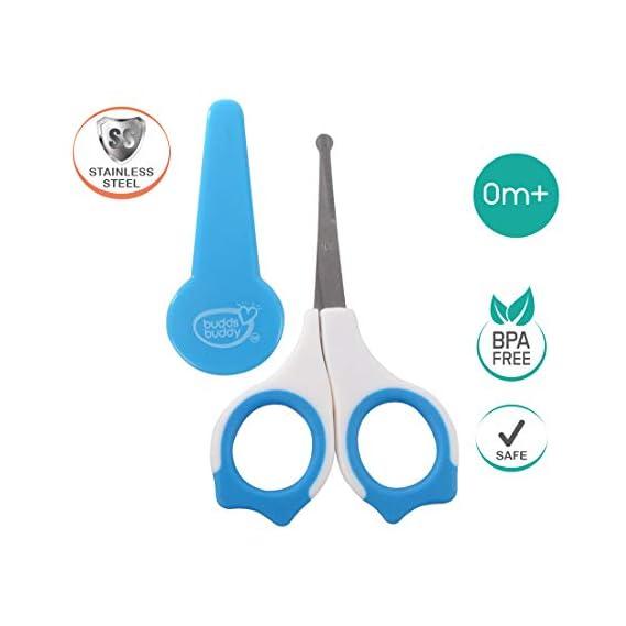 Buddsbuddy Premium Baby Nail Scissors 1pc (Blue)