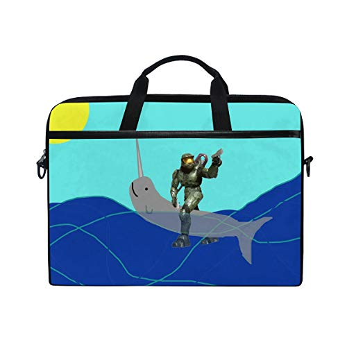 (Uniwhale Master Chief Laptop Tablet Bag Tote Briefcase Computer Case Handbag Men Women)