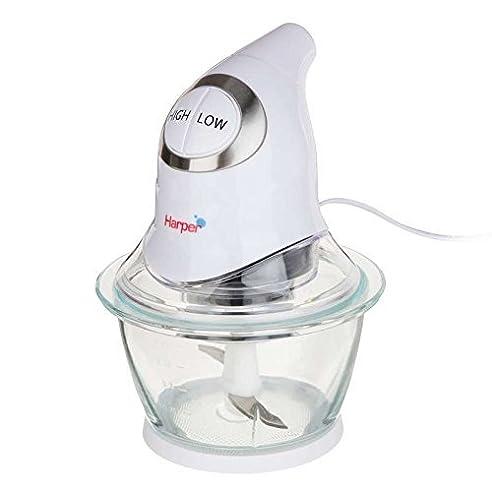 zerkleinerer mixer küche schüssel aus glas 1l 2