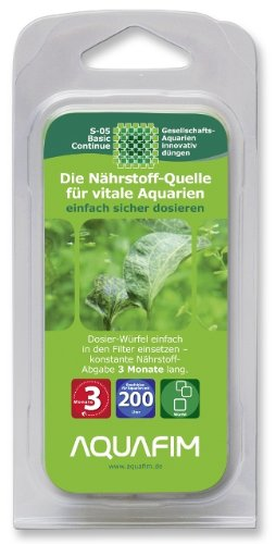 Aquafim S-05 Basic Continue bis 200 L 3 Monate Aktive Zeit