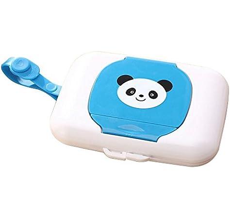Cikuso Soporte de Almacenamiento Caja de toallitas humedas para ninos Estuche de Limpieza de Viaje Dispensador de Cambio Bebe: Amazon.es: Hogar