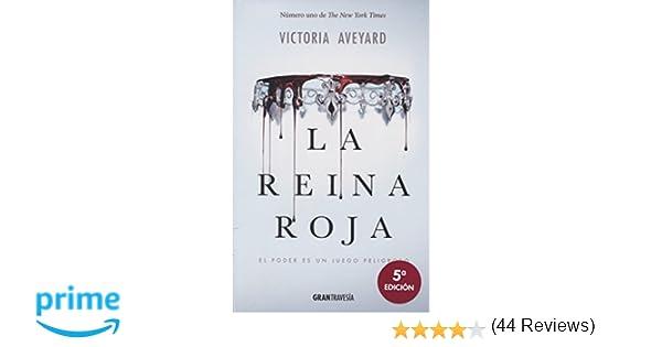 La reina roja (Joven adulto): Amazon.es: Victoria Aveyard, Enrique ...