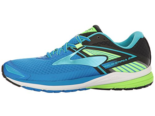 Brooks Ravenna 8, Zapatos para Correr para Hombre Azul (Electric Blue Lemonade/black/green Gecko)
