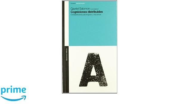 Cogniciones distribuidas Educación, Agenda educativa: Amazon ...