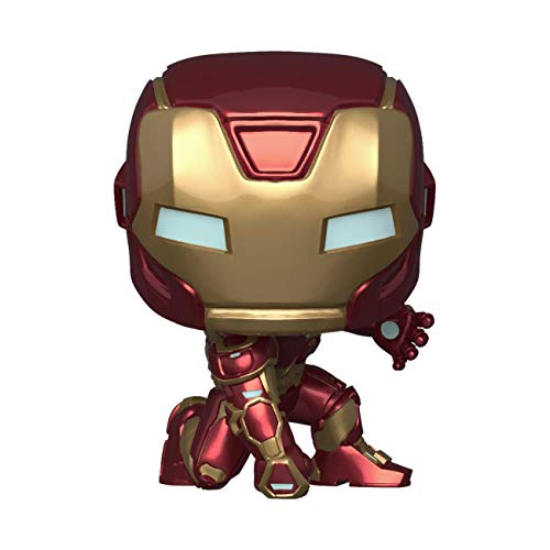 Pop! Marvel Avengers Game- Iron Man (Stark Tech Suit), Multicolor