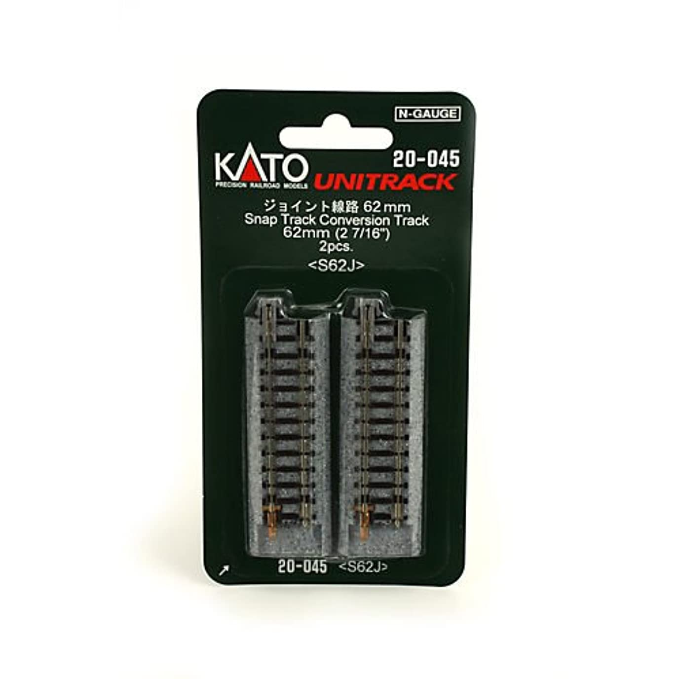翻訳者緑シティKATO Nゲージ V17 複線スラブ軌道線路セット 20-877 鉄道模型 レールセット