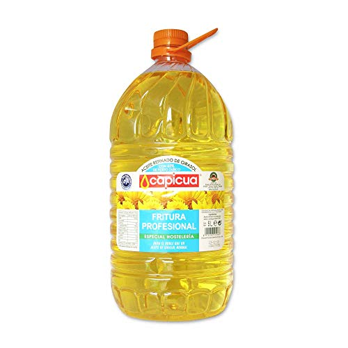 Capicua Aceite Refinado de Girasol con 65% de Acido Oleico – 5L