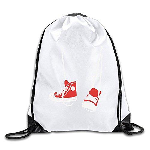y cordón hombres Chuck zapatos mochila alta mujeres Bolsa rojo deporte de zapatos blanco Funny para AnfOF1wqw