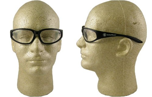 Smith & Wesson Clear Safety Glasses, Scratch-Resistant, - Glasses Special Safety 38
