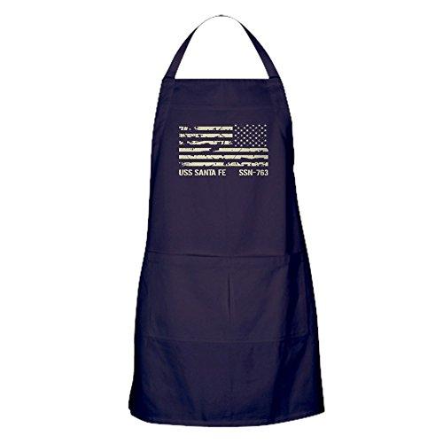 (CafePress - USS Santa Fe - Kitchen Apron with Pockets, Grilling Apron, Baking Apron)
