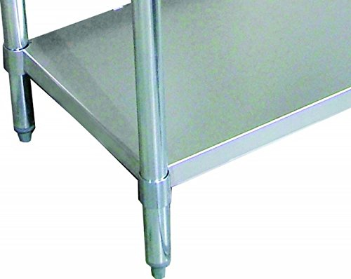 Zanduco 24 X 96 Undershelf For Standard Worktables 47000-080 by Zanduco