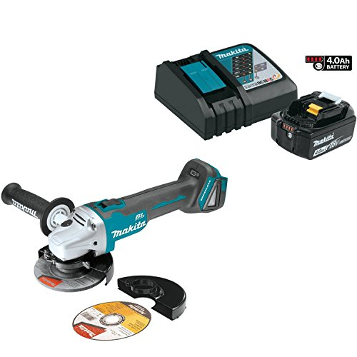 Buy Bargain Makita XAG03 Brushless Cordless 4-1/2 Angle Grinder Kit